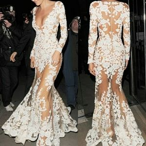 Dresses & Skirts - Lace floor length sexy prom, Birthday ,add,dresss